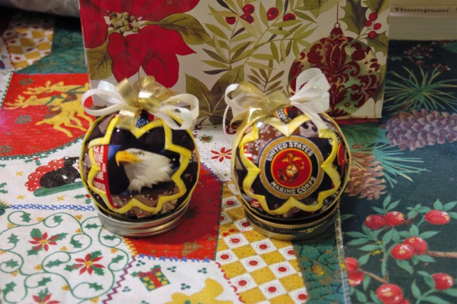 Snow Globe Marine Ornaments